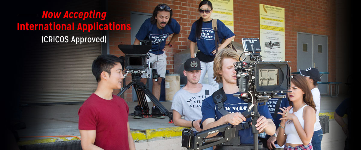 NYFA Australia now accepting international applications (CRICOS Approved)