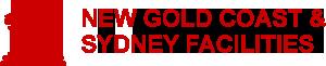 New Gold Coast and Sydney Facilities