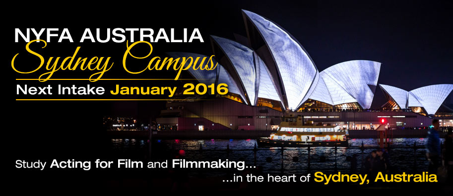Study Acting for Film and Filmmaking in the heart of Sydney, Australia.