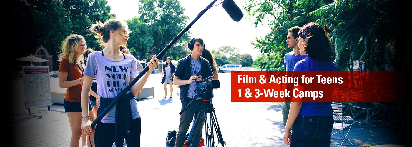 Film and Acting for Teens: 1 & 3-Week Camps